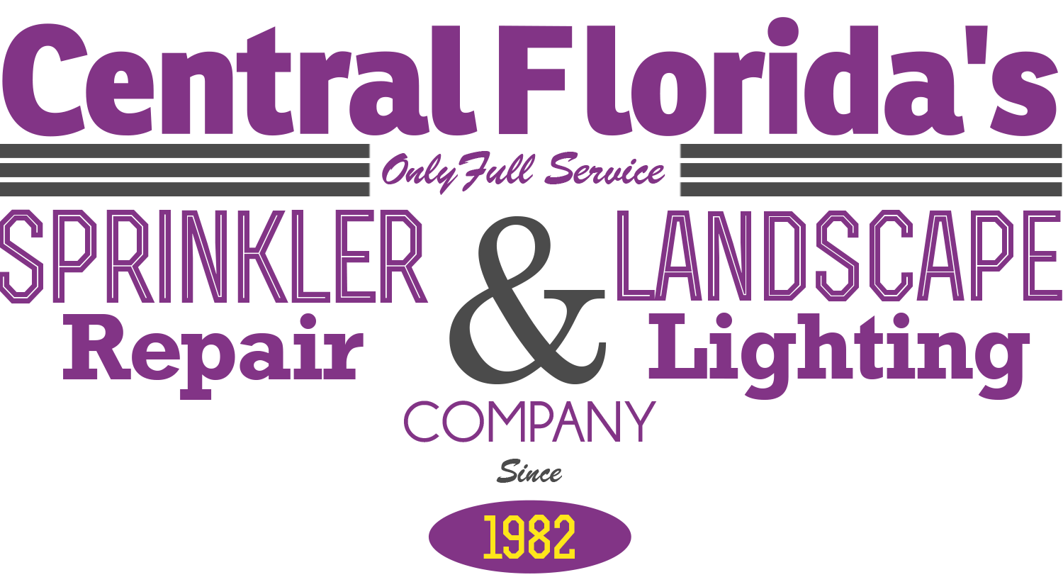 Central Florida's full service sprinkler repair & landscape lighting company since 1982.